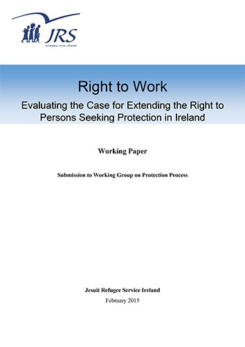 Working Group Submission re Right to Worke (2015) - JRS